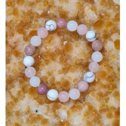 Bracelet Rose amour -...