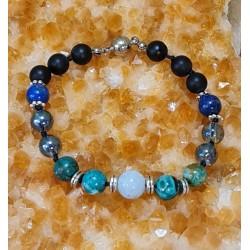 Bracelet Bleu Azur -...
