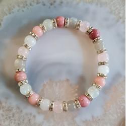 Bracelet fleur d'amour