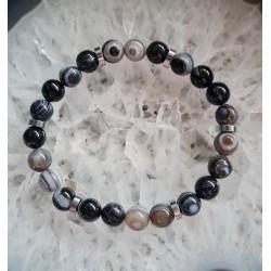 Bracelet Agate Oeil -...